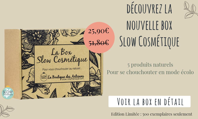 slow cosmétique boutique